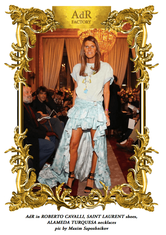 ANNA DELLO RUSSO WEARING OUR NECKLACES