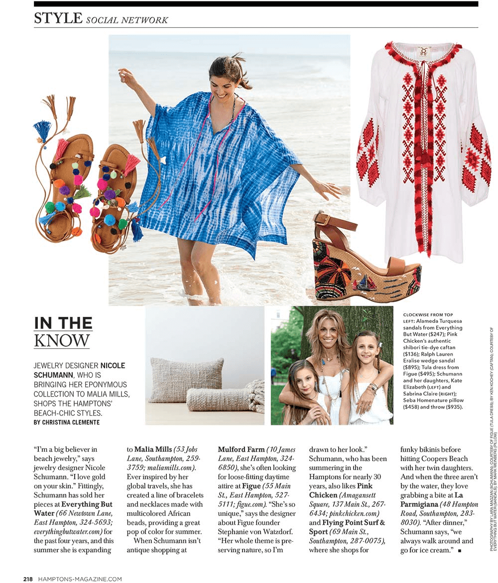'MATISSE' FEATURED AT HAMPTONS MAGAZINE