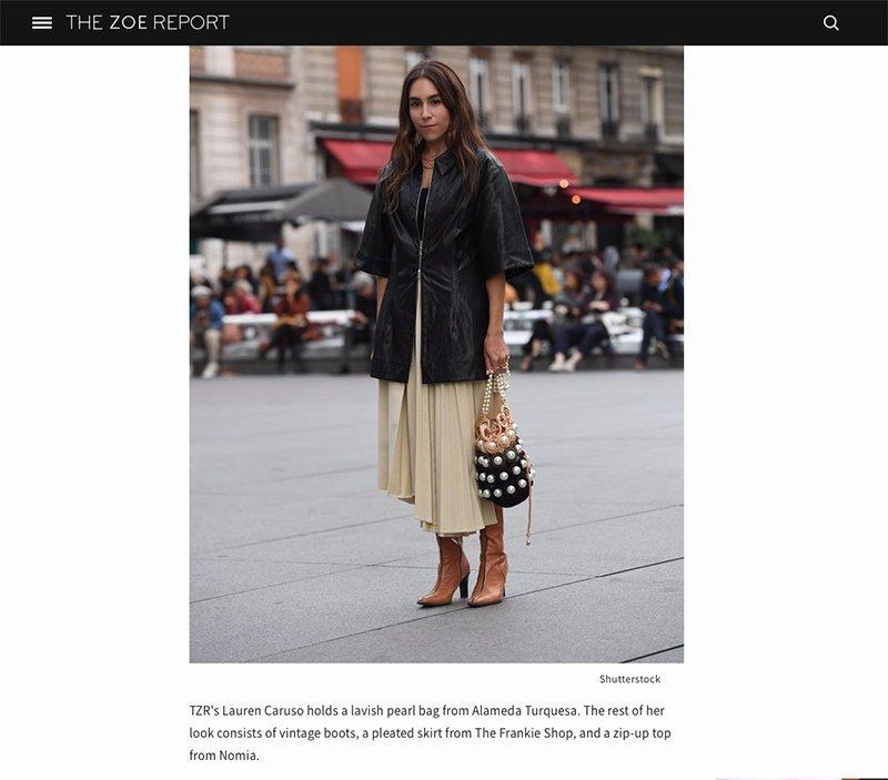 PARIS FASHION WEEK – THE ZOE REPORT